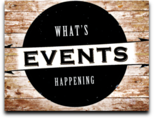 Check out our Upcoming Events!