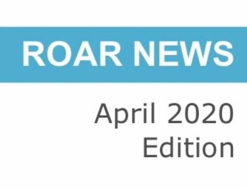 Tails from ROAR – April 2020 Edition